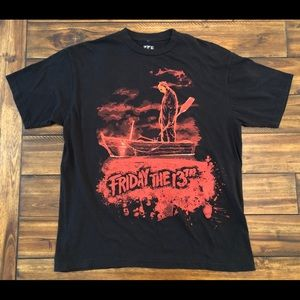 Friday the 13th T shirt Large Jason
